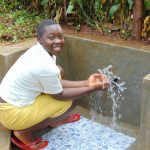 The Water Project: Imusutsu Community, Ikosangwa Spring -  Splash