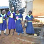The Water Project: Khwihondwe SA Primary School -  Students Collecting Water