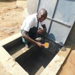 The Water Project: Sawawa Secondary School -  Pupil Elijah Enjoying A Drink