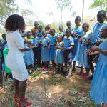 The Water Project: Hobunaka Primary School -  Laura Leads Handwashing