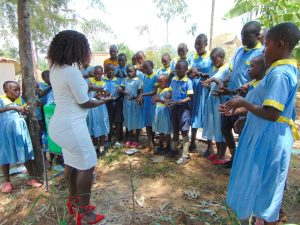 The Water Project:  Laura Leads Handwashing