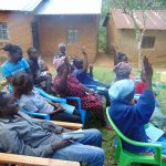 The Water Project: Mubinga Community, Mulutondo Spring -  Active Participation
