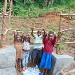 The Water Project: Maondo Community, Ambundo Spring -  Kids Celebrate The Spring