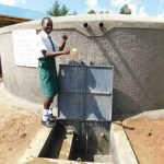 The Water Project: Sawawa Secondary School -  Pupil Anabel Celebrates Water