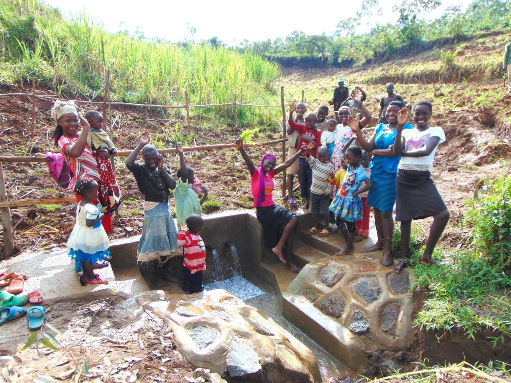 The Water Project : 39-kenya19129-celebrating-the-spring