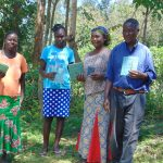 The Water Project: Mubinga Community, Mulutondo Spring -  Elected Water Committee Leaders