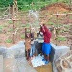 The Water Project: Maondo Community, Ambundo Spring -  Splash