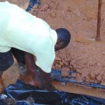 The Water Project: Kitulu Community, Kiduve Spring -  Foundation Work