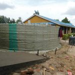 The Water Project: Sawawa Secondary School -  Sugar Sacks Tied To Walls