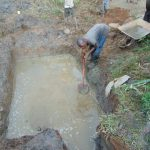 The Water Project: Musiachi Community, Mutuli Spring -  Setting Foundation