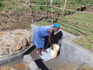 The Water Project:  Fetching Spring Water