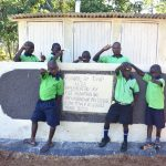 The Water Project: Khwihondwe SA Primary School -  Boys Stand With New Vip Latrines