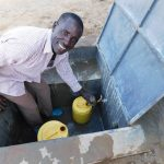 The Water Project: Sawawa Secondary School -  Anthony Mulevu School Watchman Collecting Water