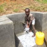 The Water Project: Kalenda A Community, Webo Simali Spring -  Smiles At The Spring