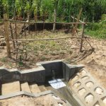 The Water Project: Kalenda B Community, Lumbasi Spring -  Clean Water Flows At Lumbasi Spring