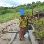 The Water Project: Bukhaywa Community, Shidero Spring -  Bringing Clean Water Home