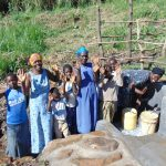 The Water Project: Emurumba Community, Makokha Spring -  Celebrating The Spring