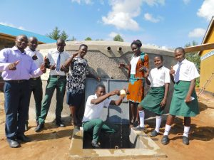 The Water Project:  Teachers And Students Celebrating