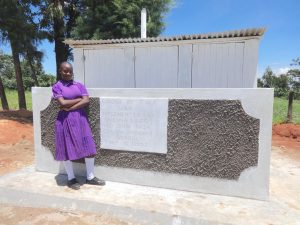 The Water Project:  Standing Proud With Latrines