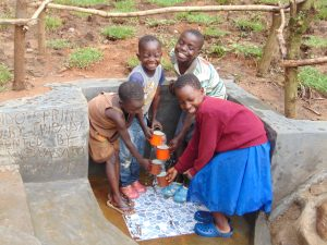 The Water Project:  Clean Cup Waterfall