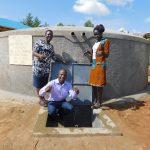 The Water Project: Sawawa Secondary School -  Teachers Celebrating At The Water Source