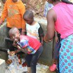 The Water Project: Namarambi Community, Iddi Spring -  Happiness