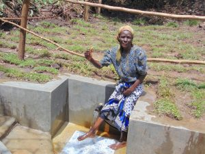 The Water Project:  Thumbs Up For Flowing Water