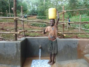 The Water Project:  Big Smile For Flowing Water