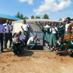 The Water Project: Sawawa Secondary School -  Entire Student Health Club Celebrates