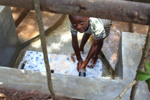 The Water Project:  Peeping From Inside The Fence
