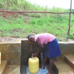 The Water Project: Musiachi Community, Mutuli Spring -  Easy Fetching Water