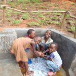 The Water Project: Maondo Community, Ambundo Spring -  Nonstop Smiles