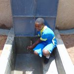The Water Project: Saride Primary School -  Smiles At The Rain Tank