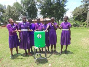 The Water Project:  Look A New Handwashing Station