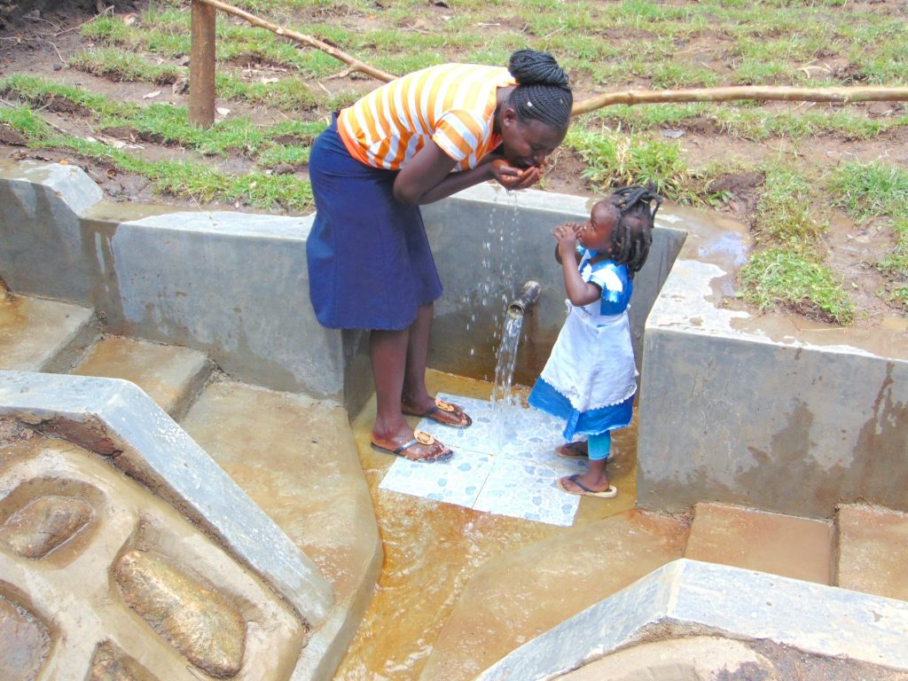 The Water Project : 46-kenya19131-like-mother-like-daughter
