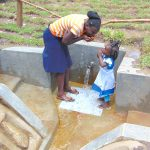 The Water Project: Mubinga Community, Mulutondo Spring -  Like Mother Like Daughter