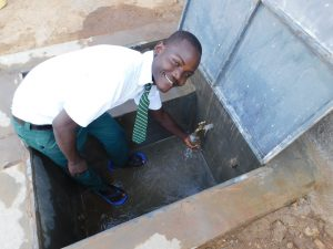 The Water Project:  Student Patrick Excited About Clean Water