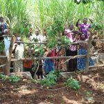 The Water Project: Namarambi Community, Iddi Spring -  Community Celebrates The Spring