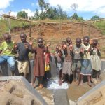 The Water Project: Kalenda A Community, Webo Simali Spring -  Kids Celerate The Spring