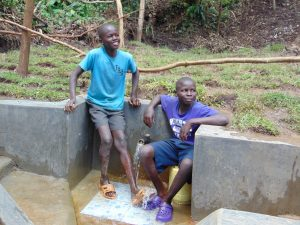 The Water Project:  Shy Smiles At The Spring