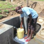 The Water Project: Kalenda B Community, Lumbasi Spring -  Happy Day