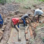 The Water Project: Musiachi Community, Mutuli Spring -  Bricklaying