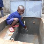 The Water Project: Hobunaka Primary School -  Clean Water Flows