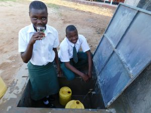 The Water Project:  Enjoying Clean Safe Water
