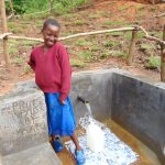 The Water Project: Maondo Community, Ambundo Spring -  Happy Day