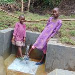 The Water Project: Mubinga Community, Mulutondo Spring -  Cooling Off