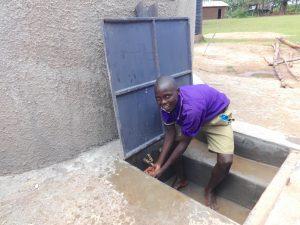 The Water Project:  Enjoying Rain Tank Water
