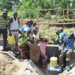 The Water Project: Kalenda B Community, Lumbasi Spring -  Strike A Pose