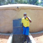The Water Project: Saride Primary School -  Taking A Drink