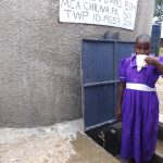 The Water Project: Chiliva Primary School -  Enjoying A Fresh Drink